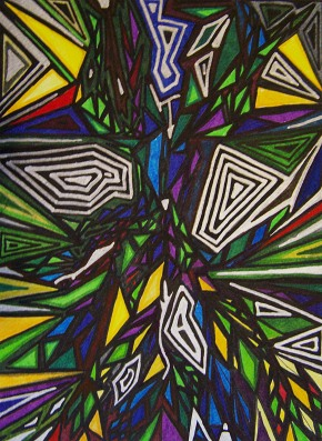 Markers on Paper