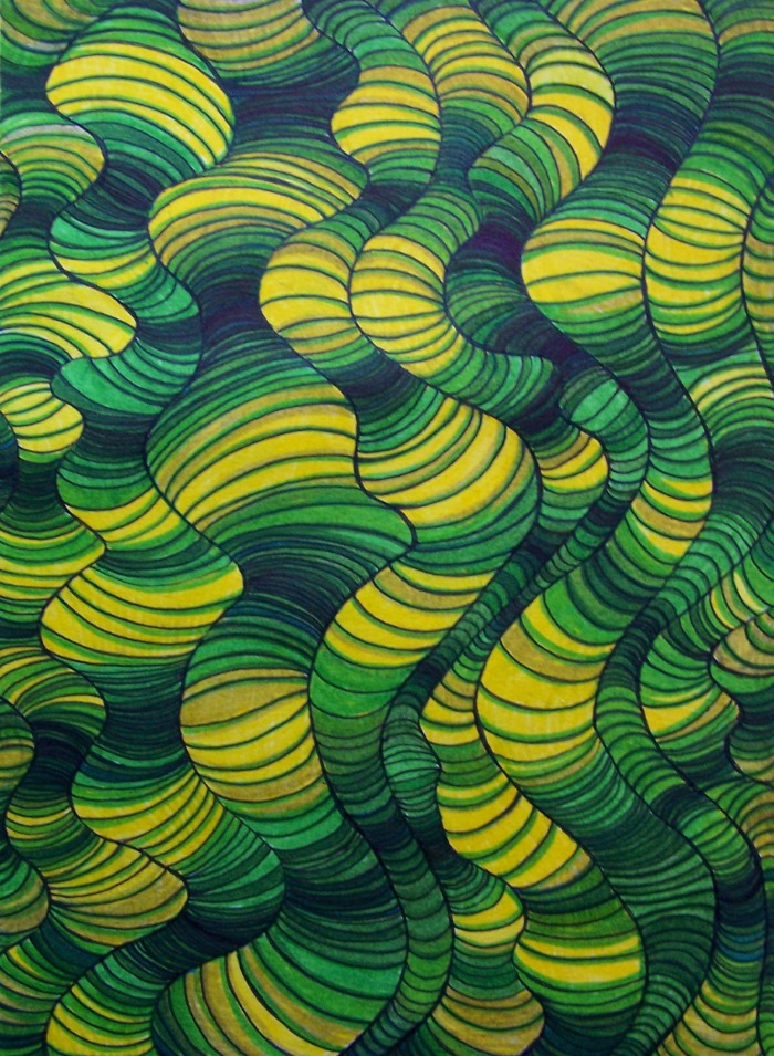 Green Slinky