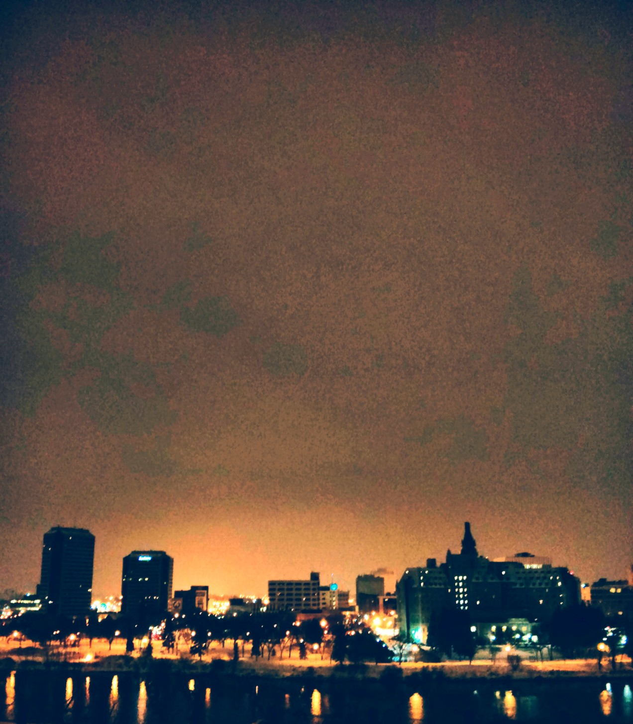 Winter Nightscape